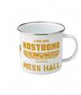 Alien Movie Series Design Ship Mess Hall Enamel Camp Mug - Nostromo / Covenant / Prometheus